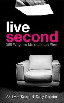 BOOK_COVER_Live Second_365 Ways to Put Jesus First